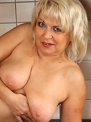 Sexy 50 year old czech granny..